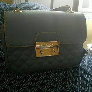 Spartina 449 quilted blue crossbody bag